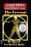 The Star Trek( Deep Space Nine( The Ferengi Rules of Acquisition)[ST DS9 ST DS9 THE FERENGI RULE][Mass Market Paperback]
