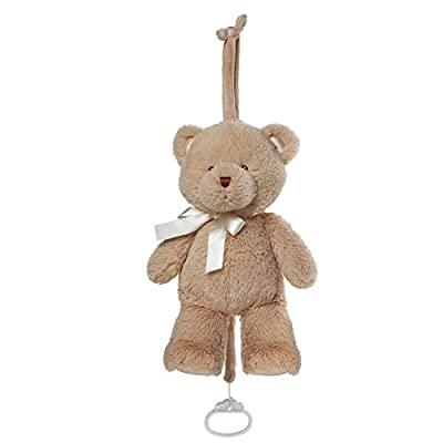 Gund Baby My First Teddy Musical Lullaby Pull Down Plush