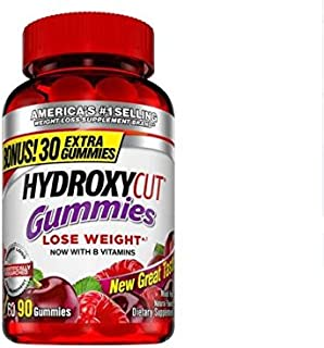 Muscletech Hydroxycut Nutrition Gummies, Mixed Fruit, 60 Count