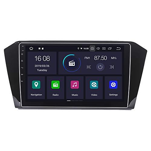 RoverOne Android 7.1 Système Pour Volkswagen VW Passat 2016+ Autoradio Radio avec Autoradio Stéréo Navigation GPS Bluetooth HDMI MirrorLink Quad Core Système multimédia