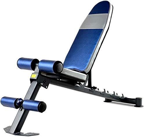 Banco de pesas ajustable para entrenamiento de músculos abdominales, banco de prensa, equipo de fitness plegable