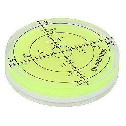 Preisvergleich Produktbild 60 mm Durchmesser Przisions-Bullseye-Wasserwaage mit Skala f¨¹r die Kameraplattform-Balance