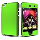 Green Rubberized Hard Snap-on Skin Case Cover Accessory for Ipod Touch 4th Generation 4g 4 8gb 32gb 64gb New