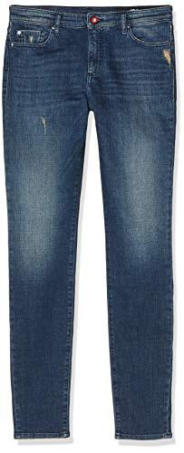 Armani Exchange Damen super mid Regular Skinny Jeans, Blau (Indigo Denim 1500), 42 (Herstellergröße: 29)