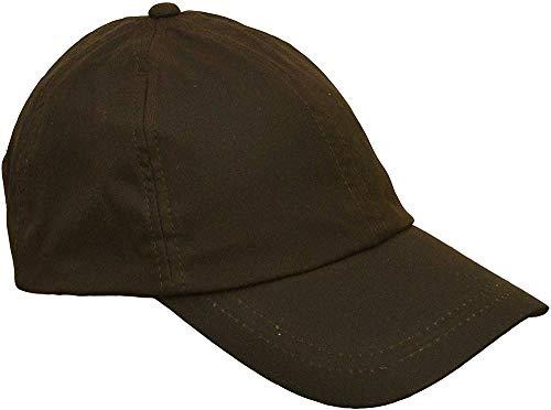 Jiushilun Mütze Uni-Sex Wax Baseball Cap Waxed Cotton One-Size-Brown A