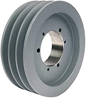 MasterDrive 3B40SH, Bushing Bore V-Belt Pulley, Section Size: A or B, Grooves: 3, O.D. 4.35