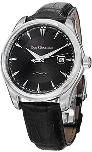 Carl F. Bucherer Manero Auto Date Men's Black Leather Strap Automatic Watch 00.10915.08.33.01 image