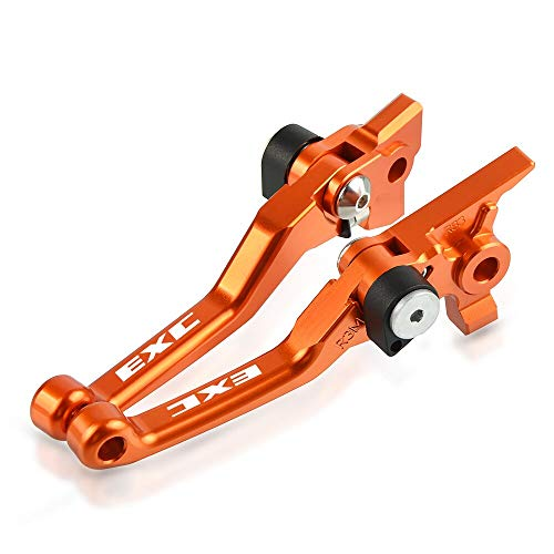 KIILING Motocross Bike Brake Abrague palancas de Embrague Manija para ECC 125 200 250 300 400 450 500 530 EXC 2012 2014 2015 2015 2017 2017 2019 2019 (Color : 400EXC 2009 2011)