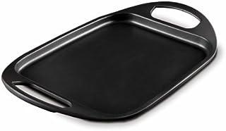 Fundix by Castey Nonstick Cast Aluminium Induction Flat Tray Pan, 17-1/2