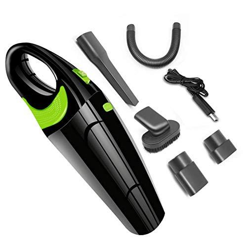 Tragbare schnurlose Handstaubsauger Autostaubsauger Nass- und Trocken Staub buster (Color : Black)