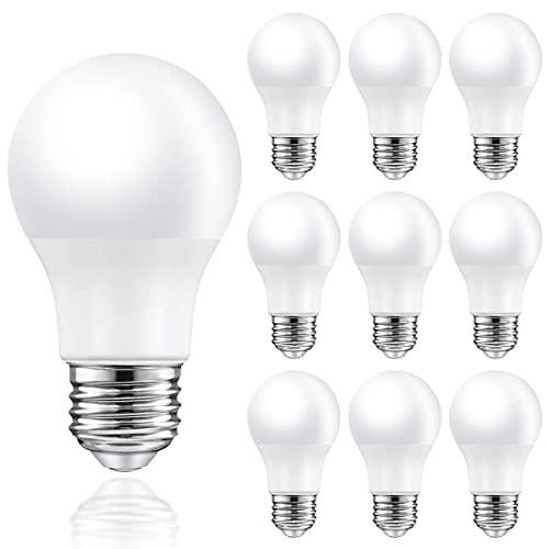 MZYOYO Ampoule LED E27 3W A50 Blanc Chaud 2700K 250lm Équivalent à Incandescence 25W Angle de Faisceau 230° Ampoule LED E27 Non Dimmable Lot de 10