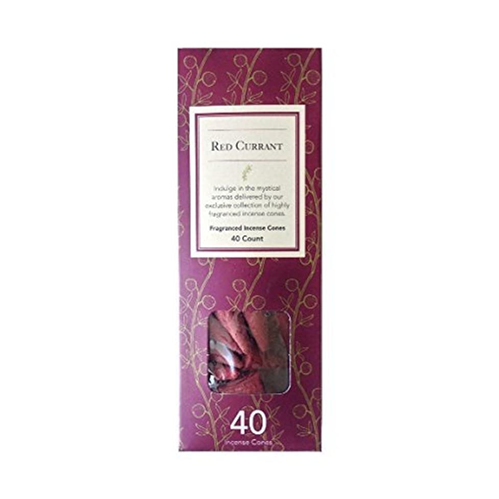下る成人期食べるFlora Classique Red Currant Fragranced Incense Cones、40-ct。パック