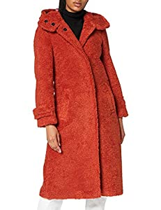 Bugatti Damen 662300-69031-670 Wollmischungs-Mantel, orange, 46