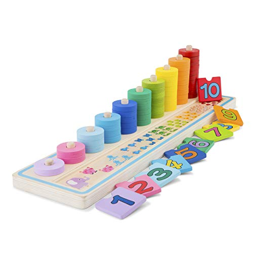 New Classic Toys Learn to Count, multicolore color (10510) ,