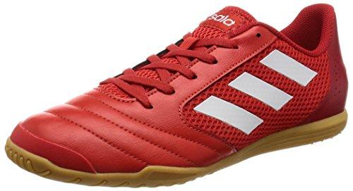 adidas Ace 17.4 Sala, Botas de fútbol Hombre, Rojo (Red/FTWR White/Scarlet), 45 1/3 EU