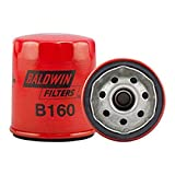 Baldwin Filters Oil Filter, Spin-On, Full-Flow