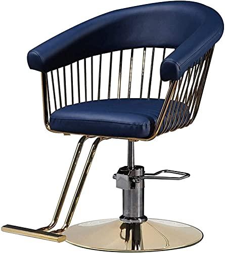 Barbiere Sedia salone Parrucchiere Sedia per barbiere idraulica Sedia classica Styling Beauty Shampoo Attrezzatura spa, peso massimo carico 400 libbre