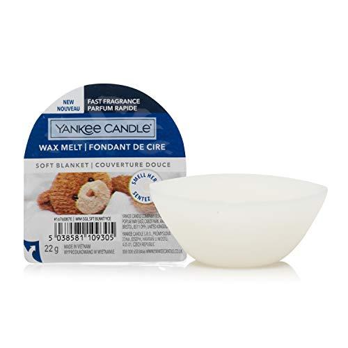 Yankee Candle cialde di cera profumate Wax Melt | Coperta morbida | Durata della fragranza: fino a 8 ore | 1 pezzo