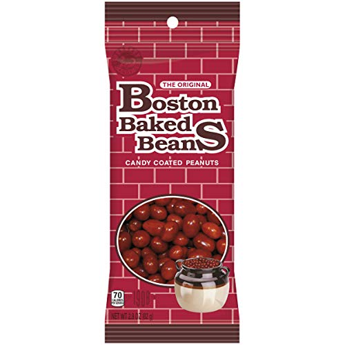 Boston Baked Beans Candy Coated Peanuts 2.9 Ounce Pack of 8 by Ferrara Pan Candy Co.