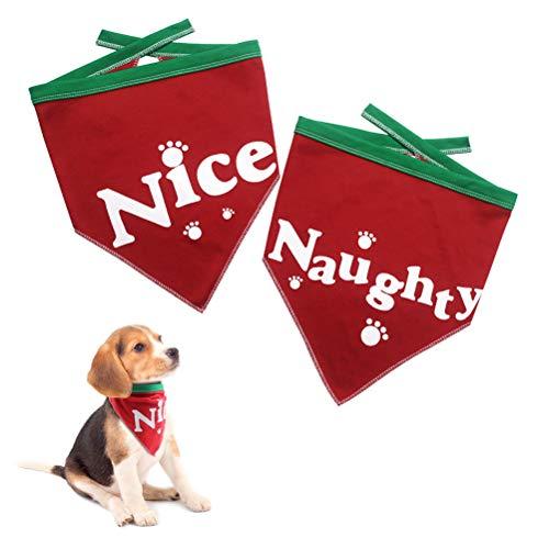 Christmas Dog Bandanas for Pet