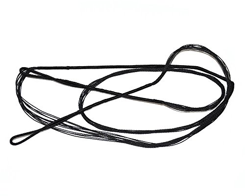 """I-Sport Archery Hunting Braided Replacement Bowstring Traditional Recurve Bow String 56"""" Black Color"""