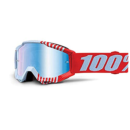 100% Maschera Accuri Junior Cupcoy - Lente a Specchio Blu, Multicolore, Taglia Unica