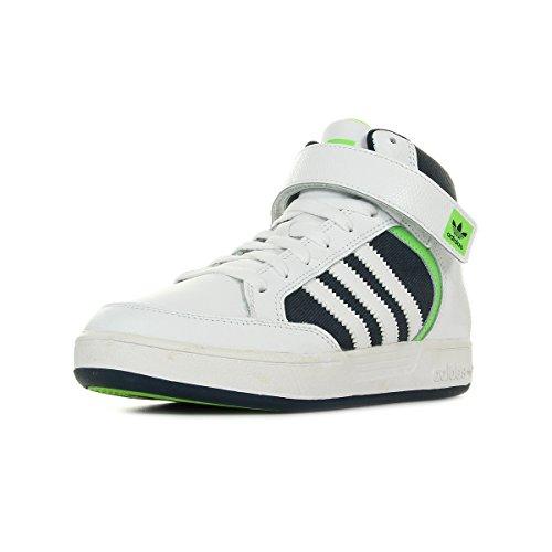 adidas Varial Mid J, Zapatillas de Skateboarding Niños, Blanco (Ftwbla/Versol/Maruni), 32