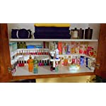 Spicy-Shelf-Deluxe-Expandable-Spice-Rack-and-Stackable-Cabinet-Pantry-Organizer-1-Set-of-2-shelves-As-seen-on-TV