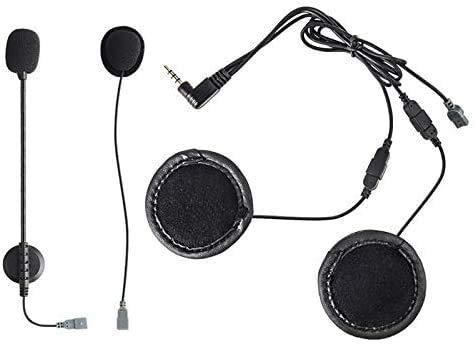JIEWEI Accesorios práctica Casco de la Moto de la Motocicleta del intercomunicador de Bluetooth Headset Accesorios Altavoz para estrenar