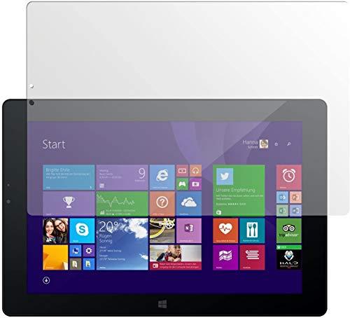 dipos I 2X Schutzfolie matt kompatibel mit Odys WinPad V10 Folie Bildschirmschutzfolie