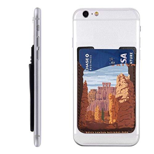 Gustave Tomlinson Siehe Amerika Handyhalter Rucksack Brieftasche, PU-Kleber ID-Aufkleber Kreditkarte Brieftasche Handyhülle Tasche Hülle Tasche