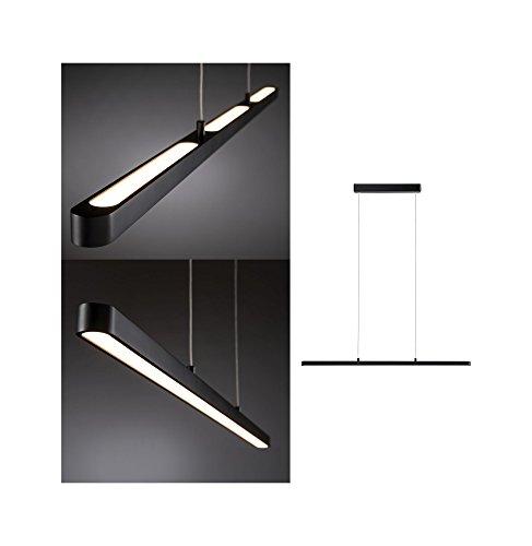 Paulmann 796.93 Lento Pendelleuchte dim LED 1x42W Softlack/Aluminium/Kunststoff Deckenleuchte Tischbeleuchtung Esszimmerleuchte 79693