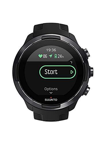 Suunto 9 Baro Montre GPS Multisport avec grande Autonomie de Batterie et Mesure du Rythme Cardiaque...