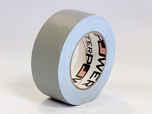 Real Professional Grade Gaffer Tape by Gaffer Power, Made in The USA, Heavy Duty Gaffers Tape, Non-Reflective, Multipurpose. (2 Inches x 30 Yards, Grey)