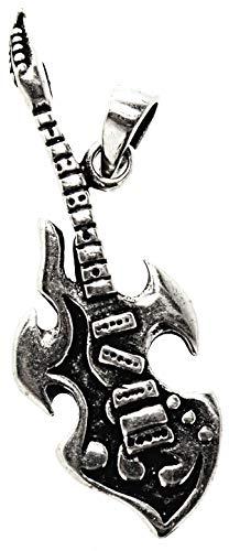 Kiss of Leather Gitarren Anhänger aus 925 Sterling Silber Nr. 38