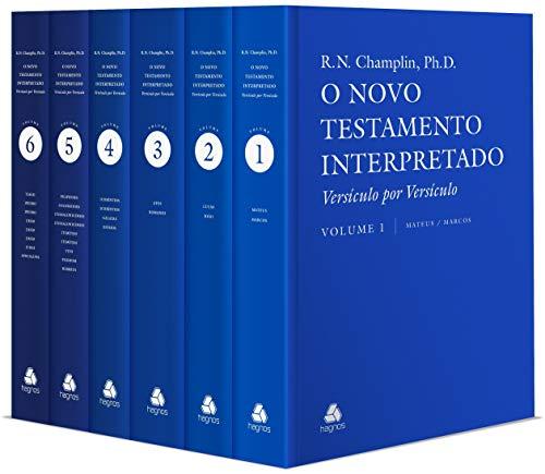 Novo Testamento Interpretado - 6 Volumes: Versículo por Versículo