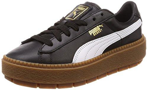 Puma Platform Trace L W Scarpa black/white