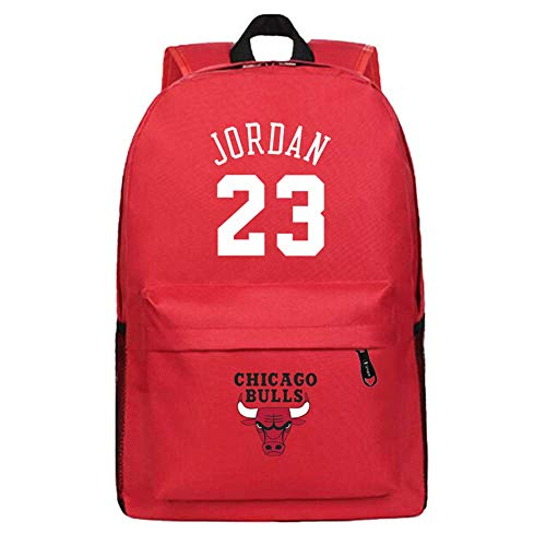 LLKSS Basket Jordan # 23 Canvas Schoolbag Bulls Zaino Zaino Da Uomo Borsa Da Studente Per Donna Borsa Per Compute