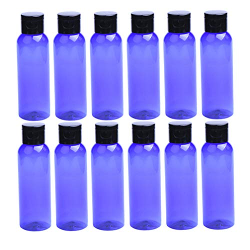 Mobestech 30 Pcs 100 Ml Vides Bouteilles de Maquillage Portable Essence Rosée avec Flip Cap Récipient de Cosmétiques pour Dames Crème Cas Lotion Distributeurs (Couleur Assortie)