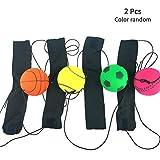 Muñequera con pelota para hacer ejercicio, manos para niños, alivio de rigidez, juego de mesa al...