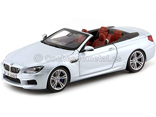 BMW M6 Convertible (F12), silver , 2012, Model Car, Ready-made, Paragon 1:18
