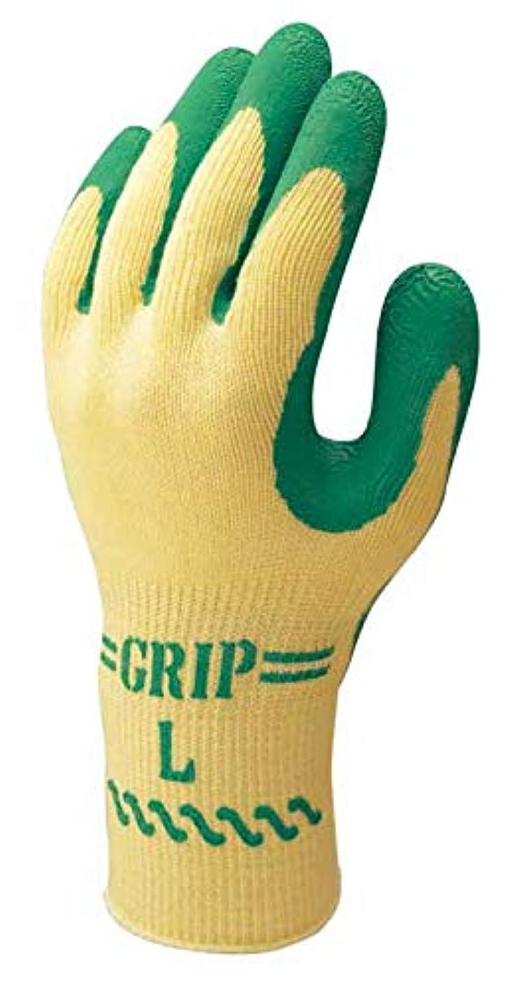 年思い出す同僚[ショーワ] 作業手袋 5双組 スベリ止め グリップ (ソフトタイプ) 特殊背抜き製法