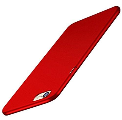 AIsoar Compatible/Replacement pour Coque iPhone 6 Plus/iPhone 6S Plus - PC Dur étui Rigide Case [Le Design Ultra-Mince et léger] [Adhérance Parfaite] Cover Bumper Très Légère (Rouge)