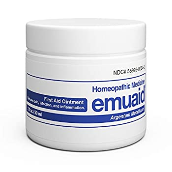 EMUAID Ointment - Eczema Cream Regular Strength Treatment Regular Strength for Athletes Foot Psoriasis Jock Itch Anti Itch Rash Shingles and Skin Yeast Infection.