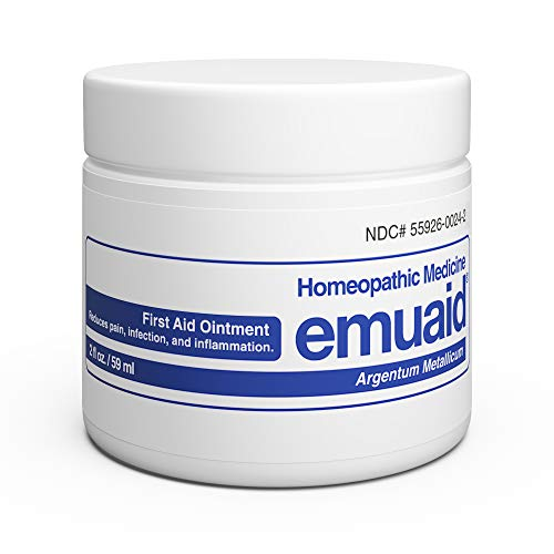 EMUAID Ointment - Eczema Cream. Regular Strength Treatment. Regular Strength for Athletes Foot, Psoriasis, Jock Itch, Anti Itch, Rash, Shingles and Skin Yeast Infection.
