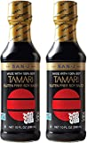 San-J Tamari Gluten Free Soy Sauce, Black Bottle, 10...