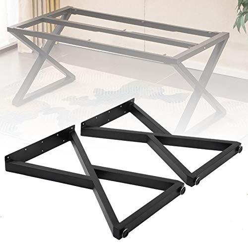 Pata de mueble, hierro fuerte pata de mesa de capacidad de carga para café para el hogar