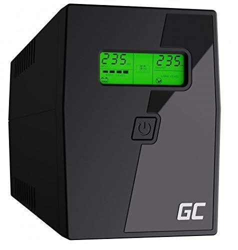Green Cell® UPS Onduleur 600VA (360W) 230V Alimentation d'énergie...