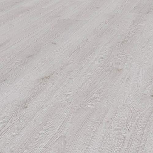 KRONOTEX Laminat Eiche Landhausdiele Superior Basic D 3201 Trend white I für 7,84 €/m²