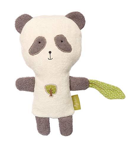 sigikid, Mädchen und Jungen, Wärmekissen, Panda Green, Weiß, 39011